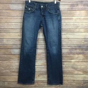 True Religion Men's Straight Jeans
